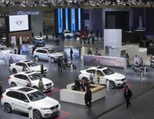 2017年4月20日在上海JAC汽车展(新能源汽车CNNEVS)