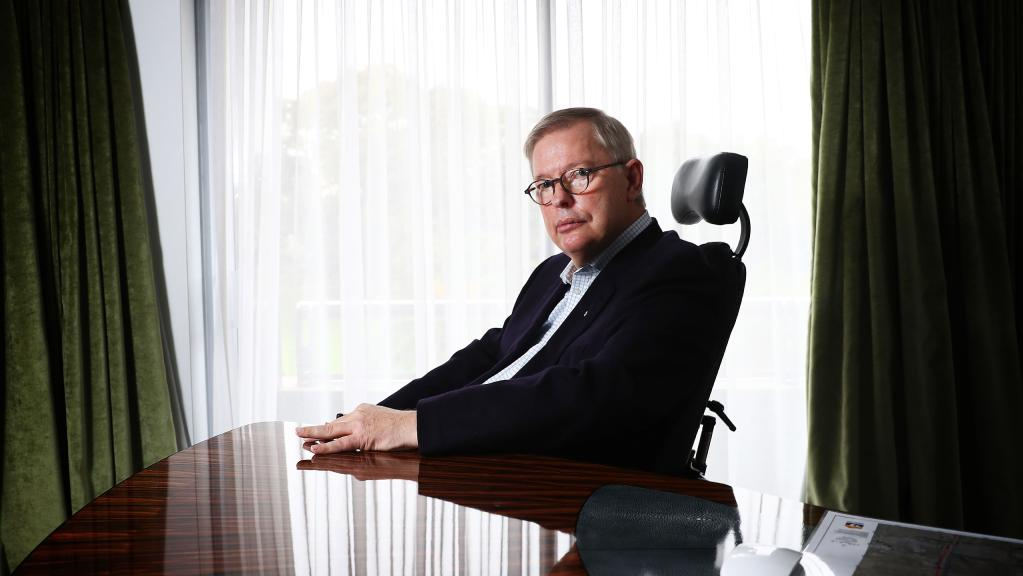 新能源汽车CNNEVS 前Macquarie财产大师Bill Moss在悉尼。图片:约翰·费德尔