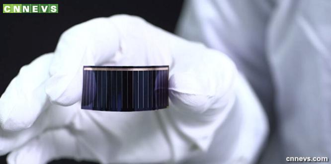 薄膜太阳能电池芯片(中国新能源汽车CNNEVS)